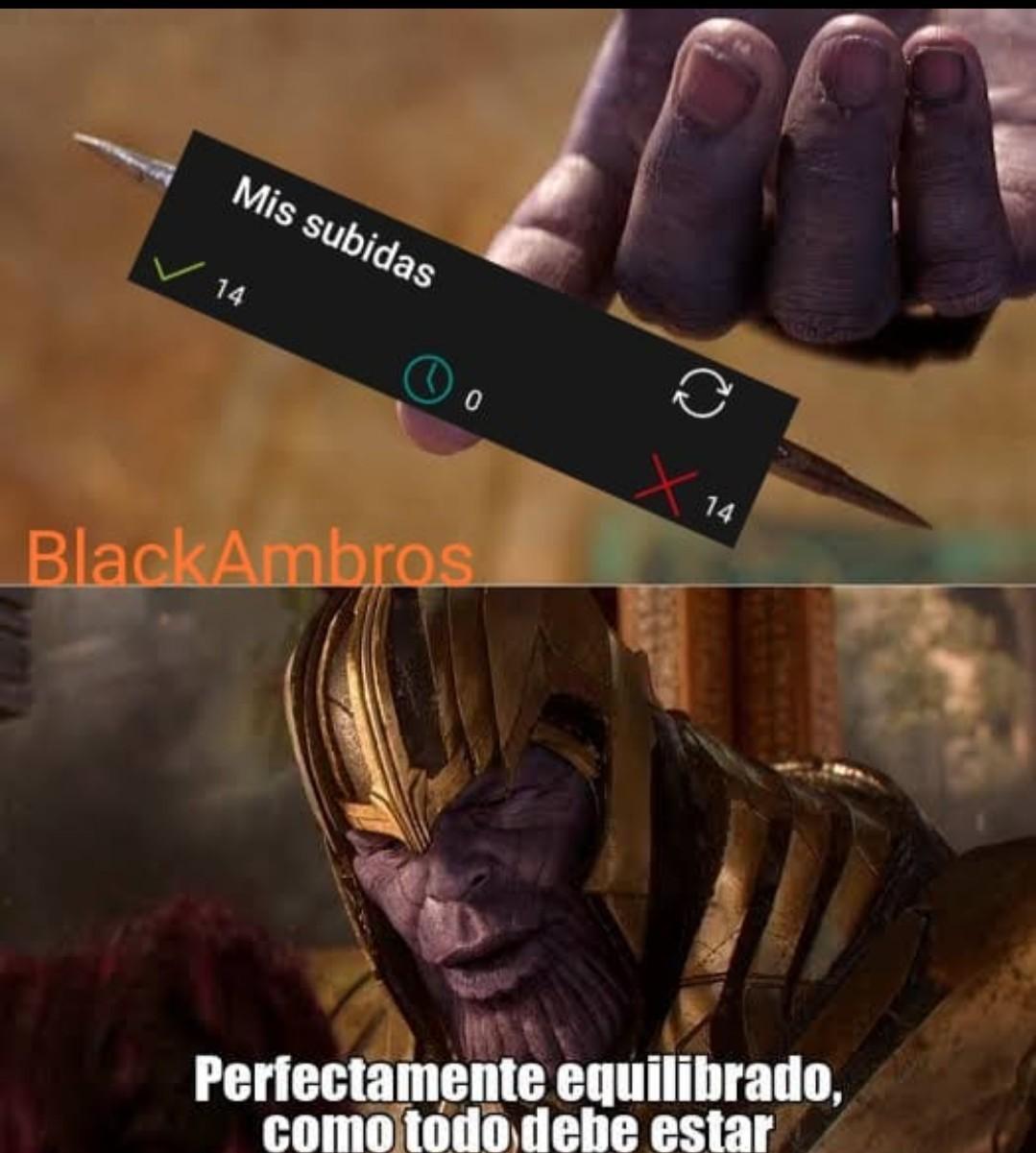 Bien balanceado - meme
