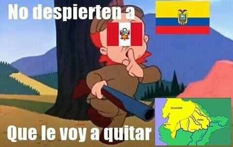 Guerra peruano ecuatoriana de 1941 - meme