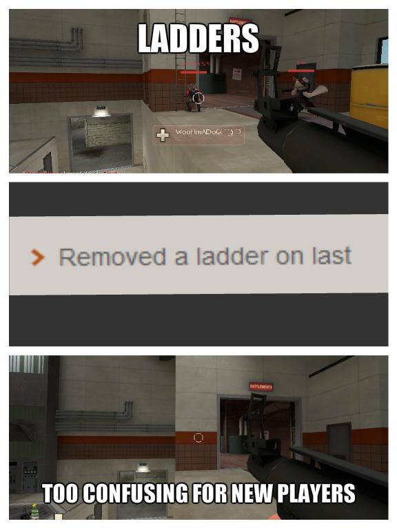 Escadas são confusas demais - meme