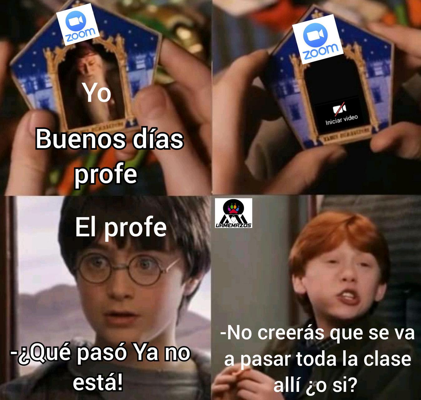 Potter online - meme
