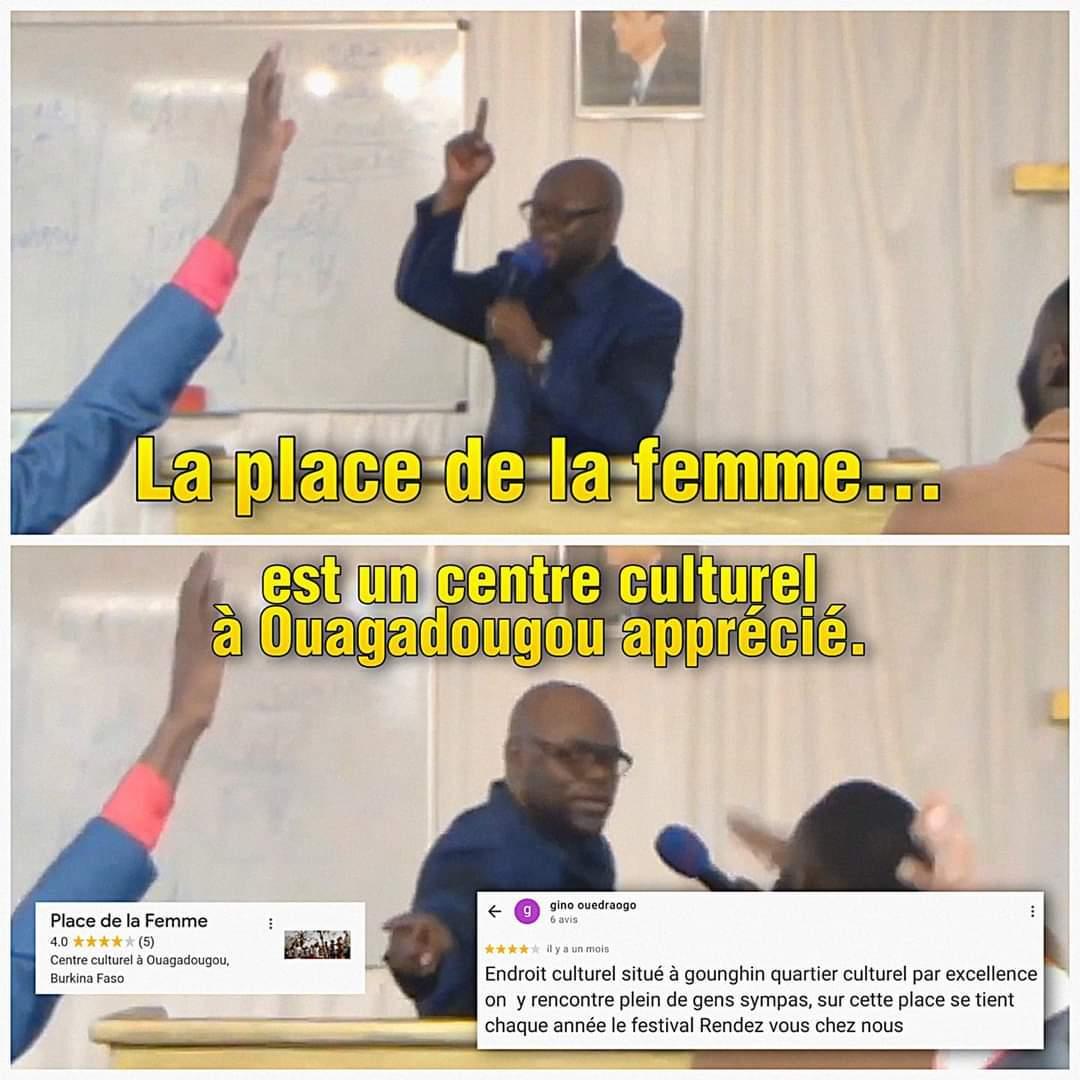 Capital du Burkina Faso - meme