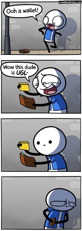 Hahaha (instant regret) - meme