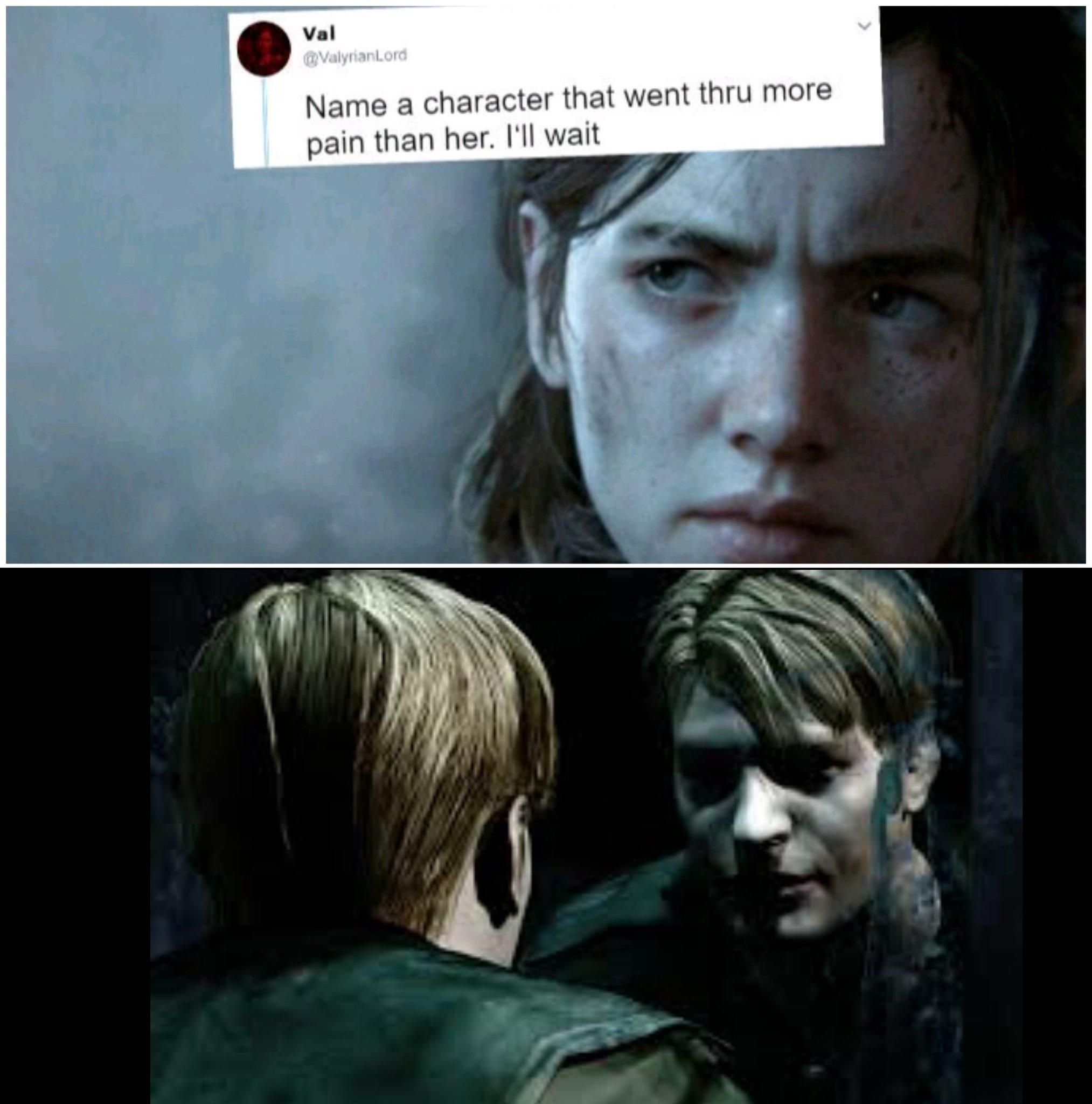 El que jugó Silent hill 2 lo conoce - meme