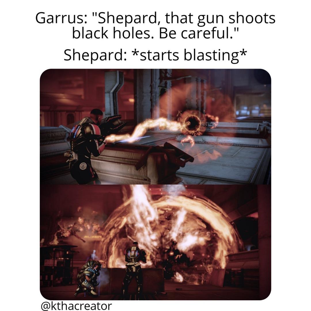Any Mass Effect fans here? - meme