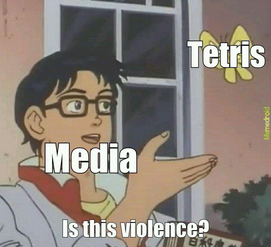 Media is dumb - meme