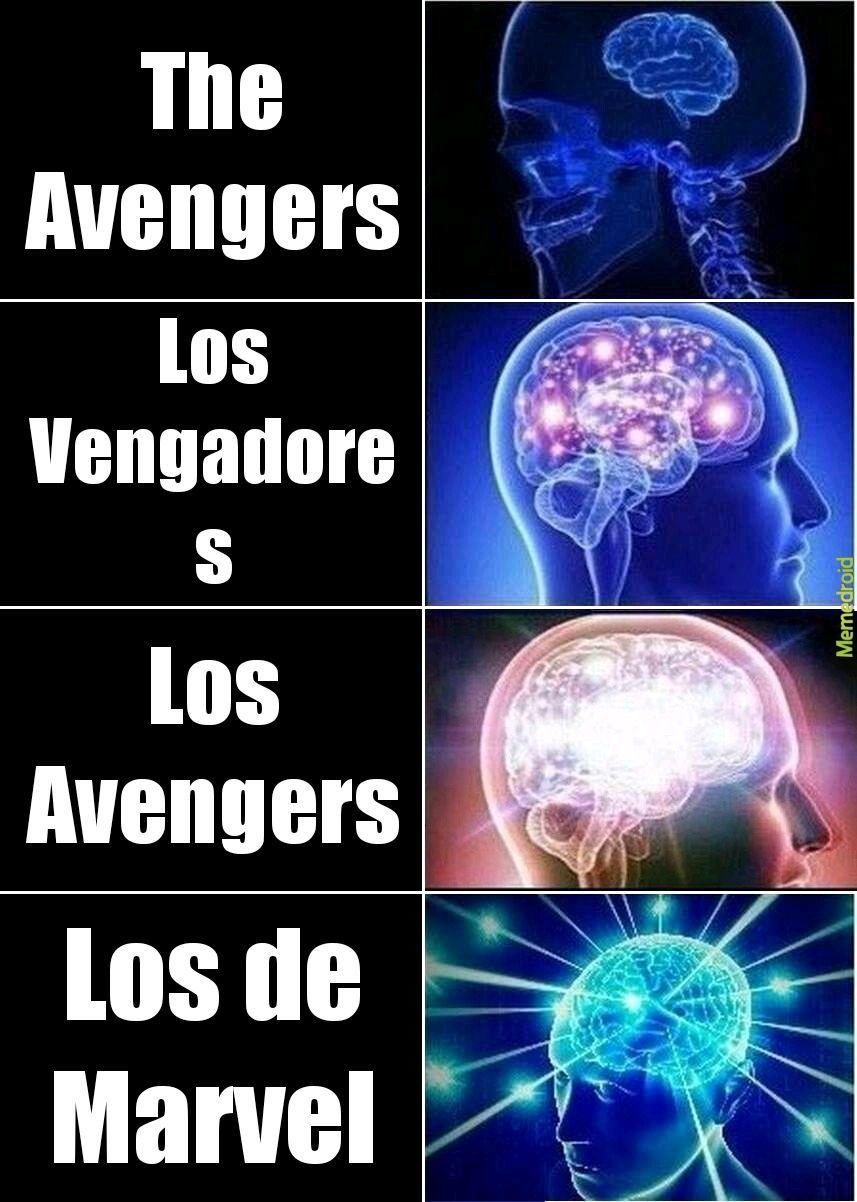 LOS DE MARVEL - meme