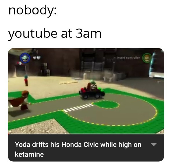 Youtube at 3am - meme