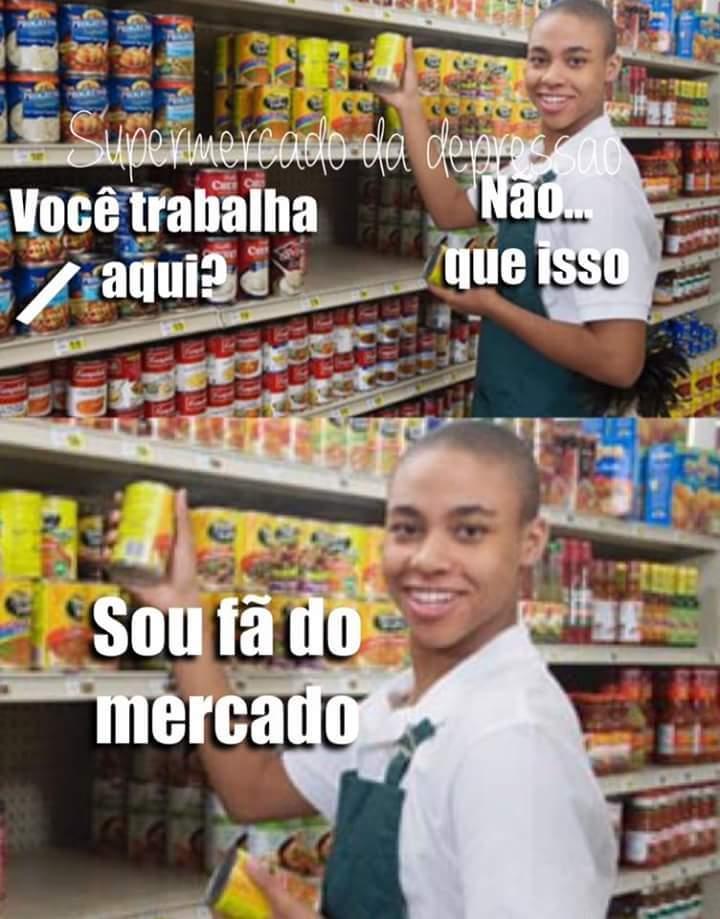 super mercado - meme