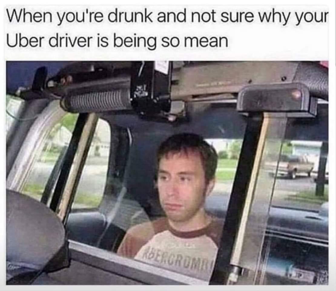 Drunk Uber - meme