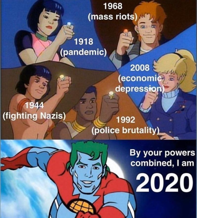 Dont forget 1968. - meme
