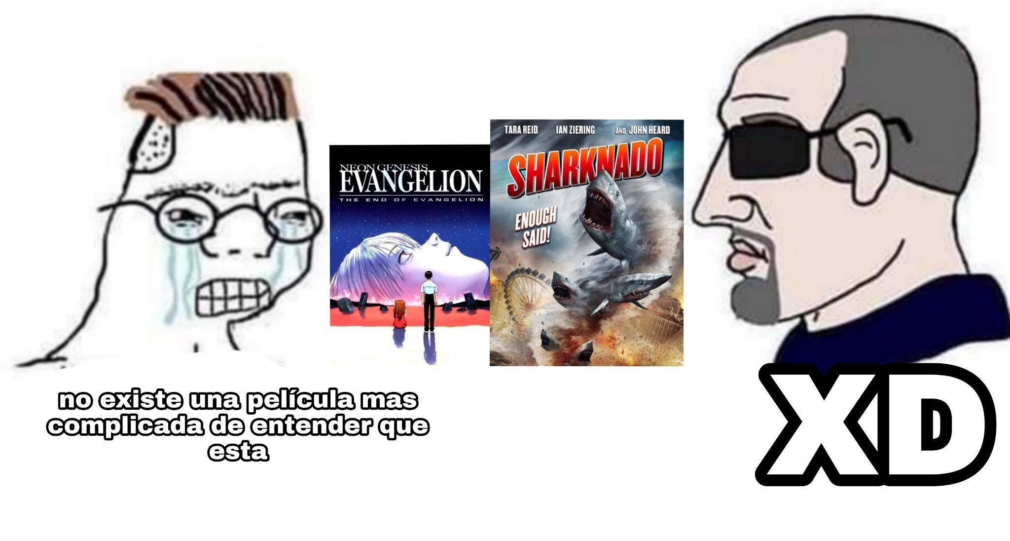 Quien chota entiende sharknado - meme