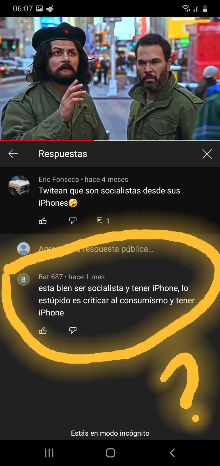 ¿En qué parte del manifiesto comunista dice eso? - meme