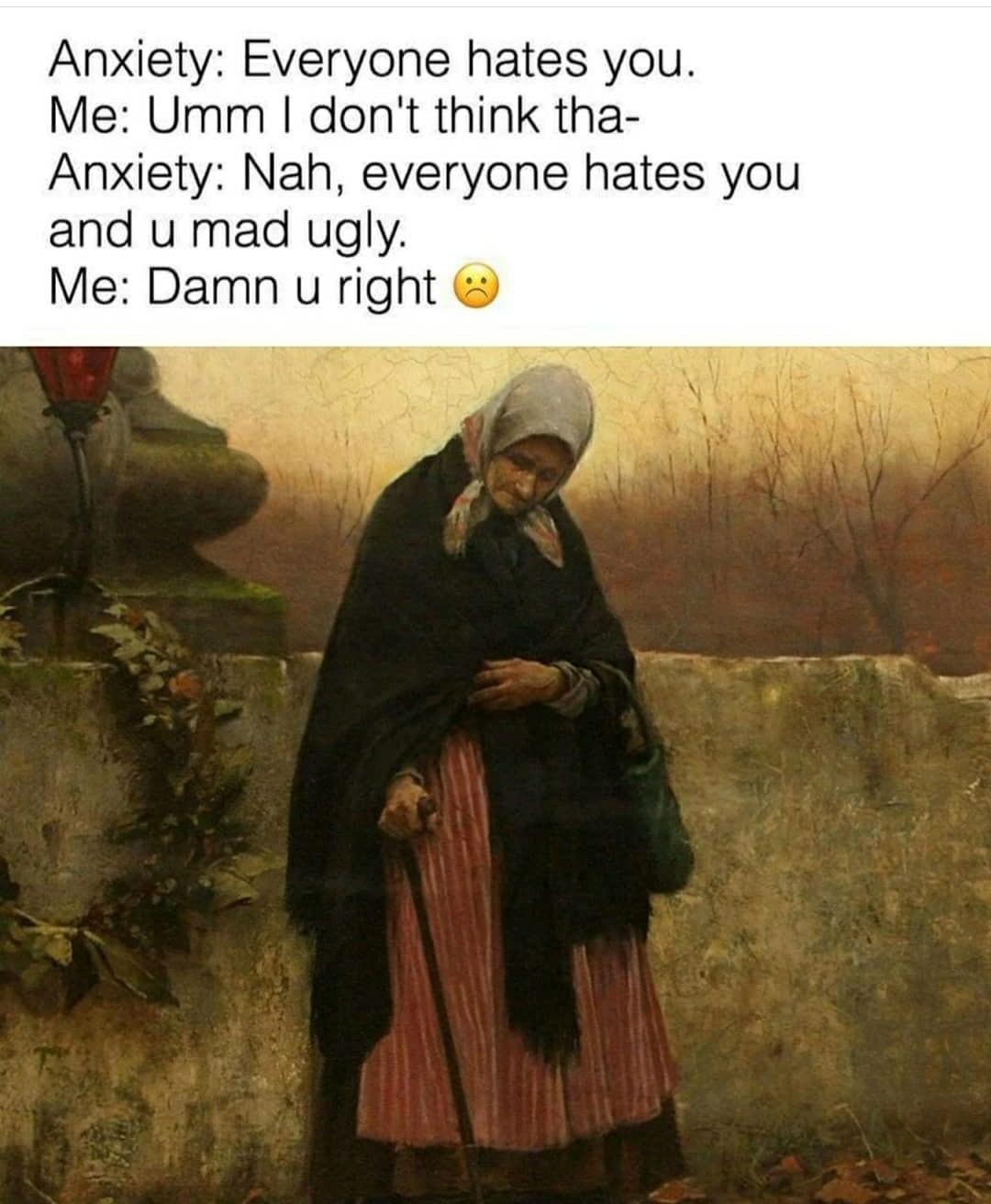 Anxietee - meme
