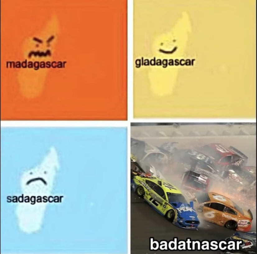 Badatnascar - meme