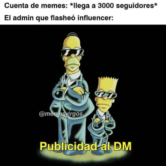 Publicidad al DM - meme