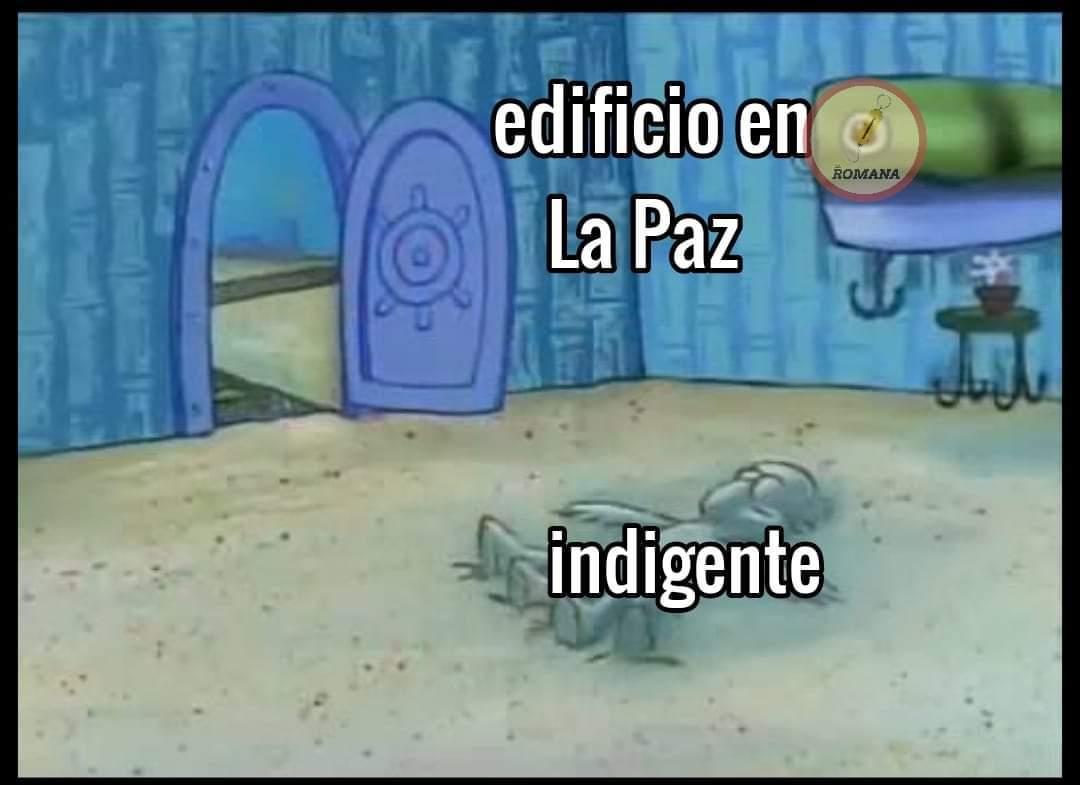 La paz - Bolivia XD - meme
