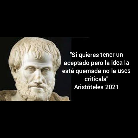 Háganle caso a Aristóteles - meme
