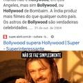 Hollywood é mais legal