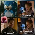 Sonic es un espanto Dios