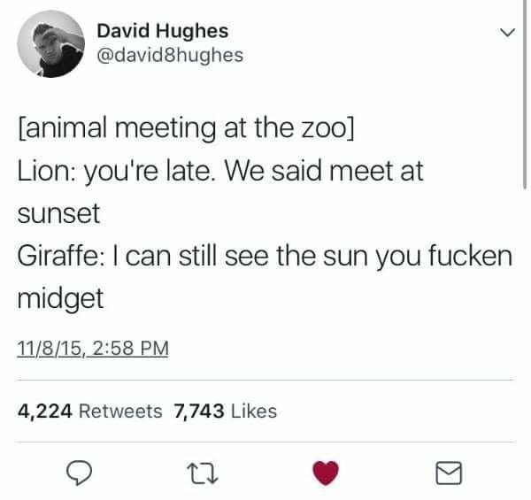 Giraffes aren't real - meme