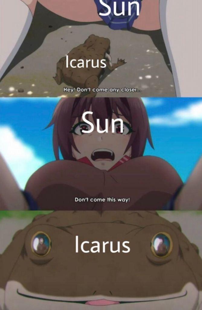 Metal Icarus - meme