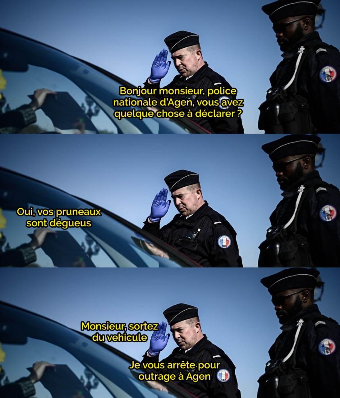 Une histoire digne d'une comédie française moyenne - meme