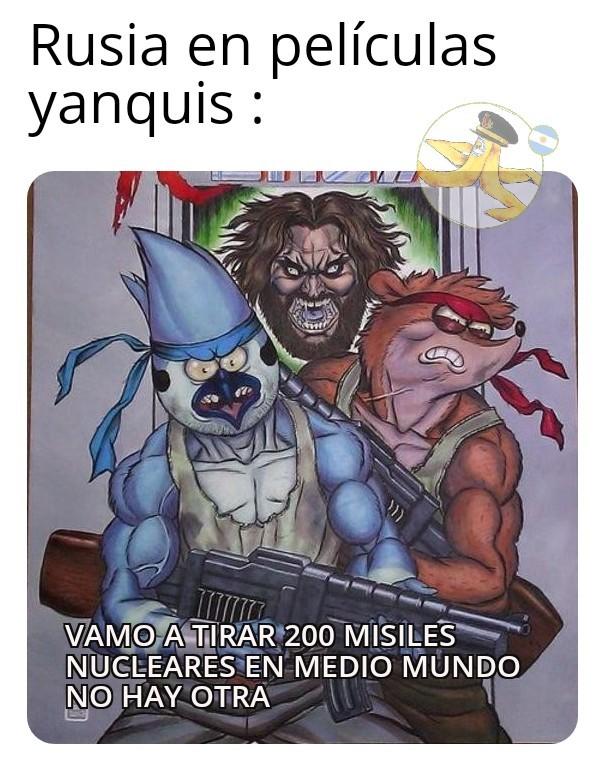 Rusia Bad yanquilandia gud - meme