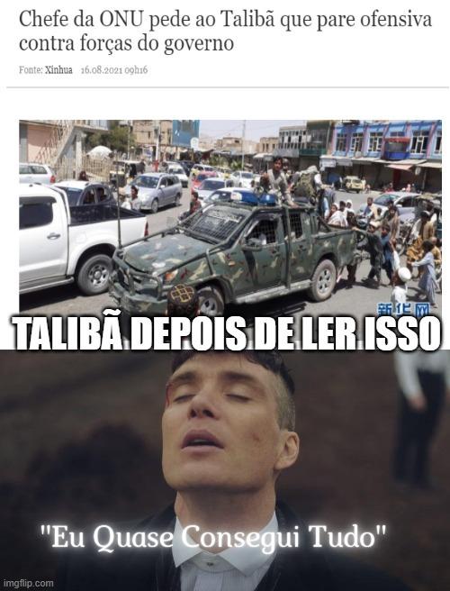 taliba, ok chefinho lindo - meme