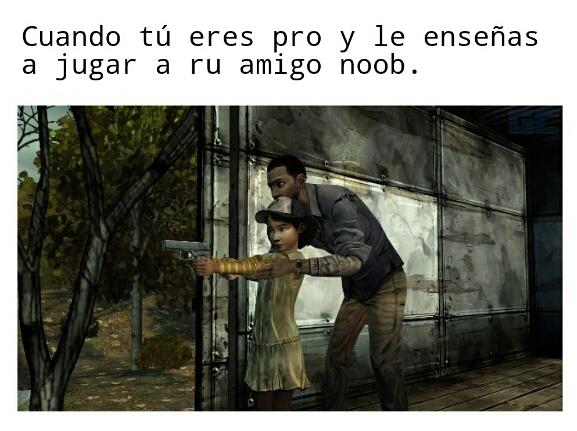 The Walking Dead :,) - meme