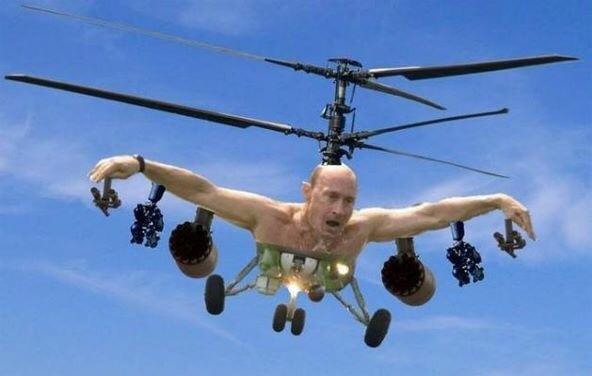 Putin está pronto - meme