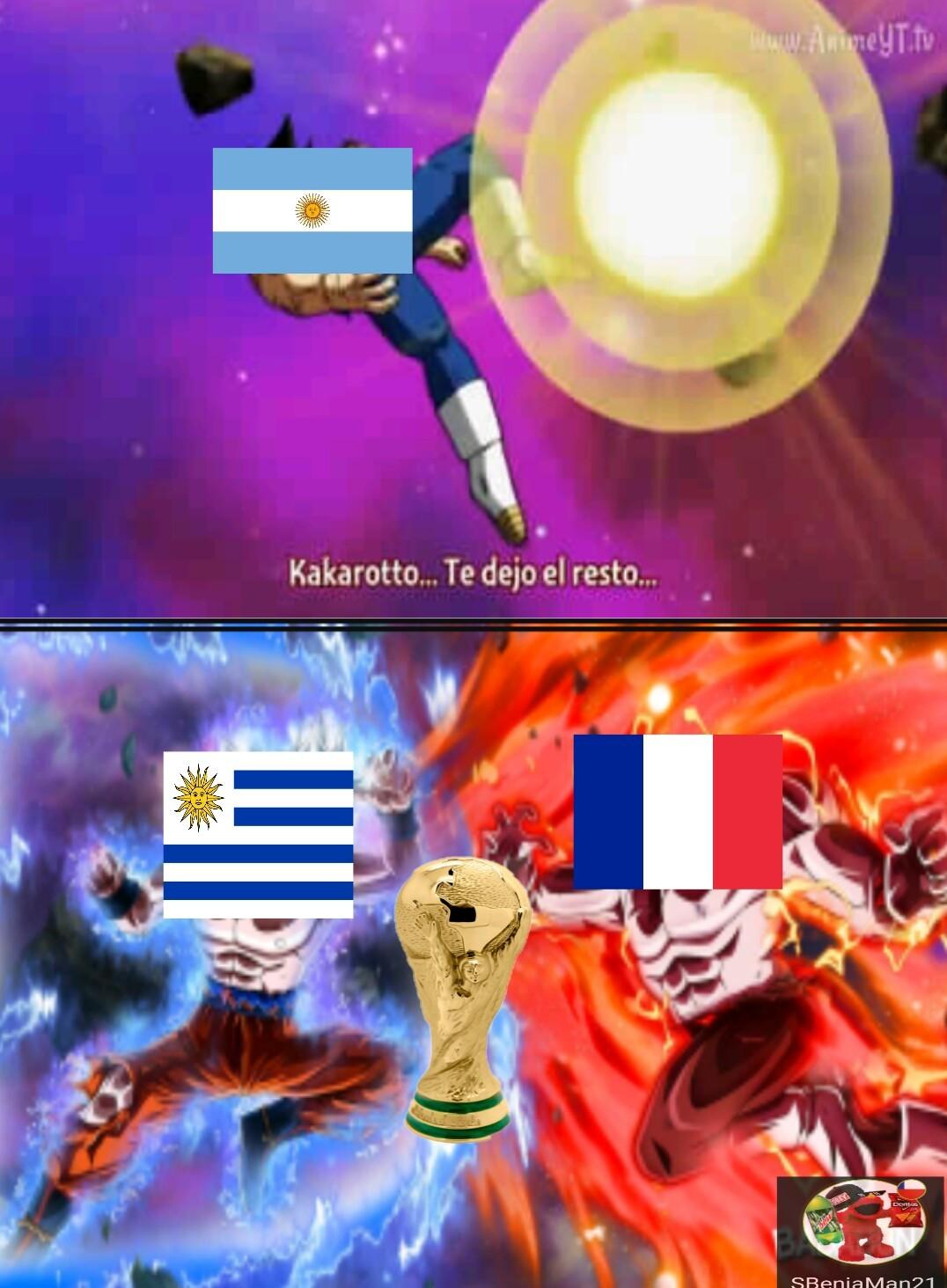 A solo minutos de la gran batalla!!! - meme