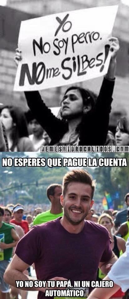 ARRIBA EL PATRIARCADO - meme
