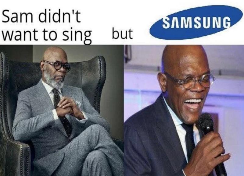 Sam sung - meme