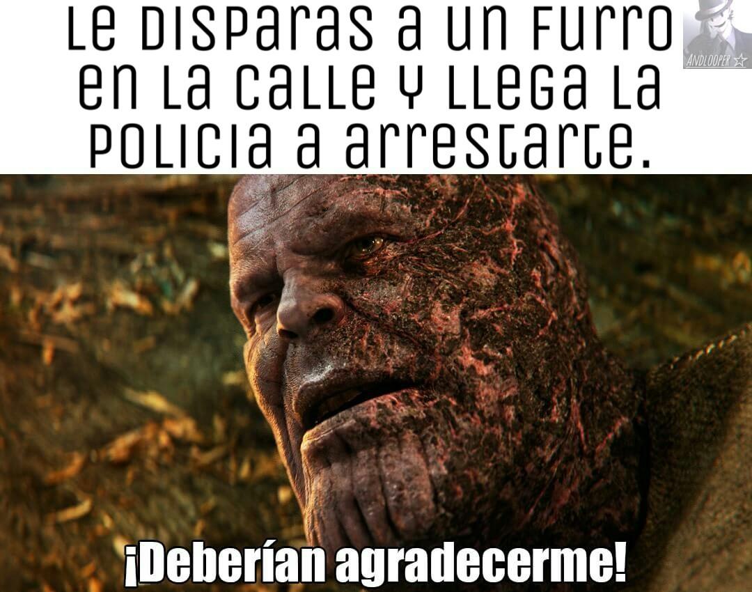 #no_arresten_a_thanos - meme