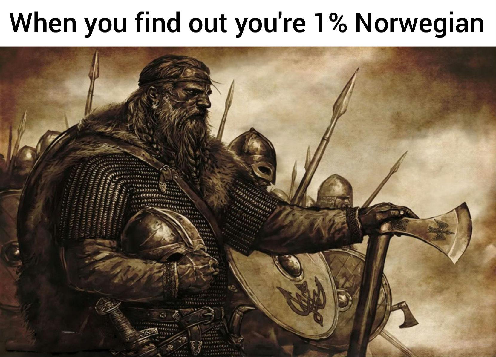 Time to raid England! - meme