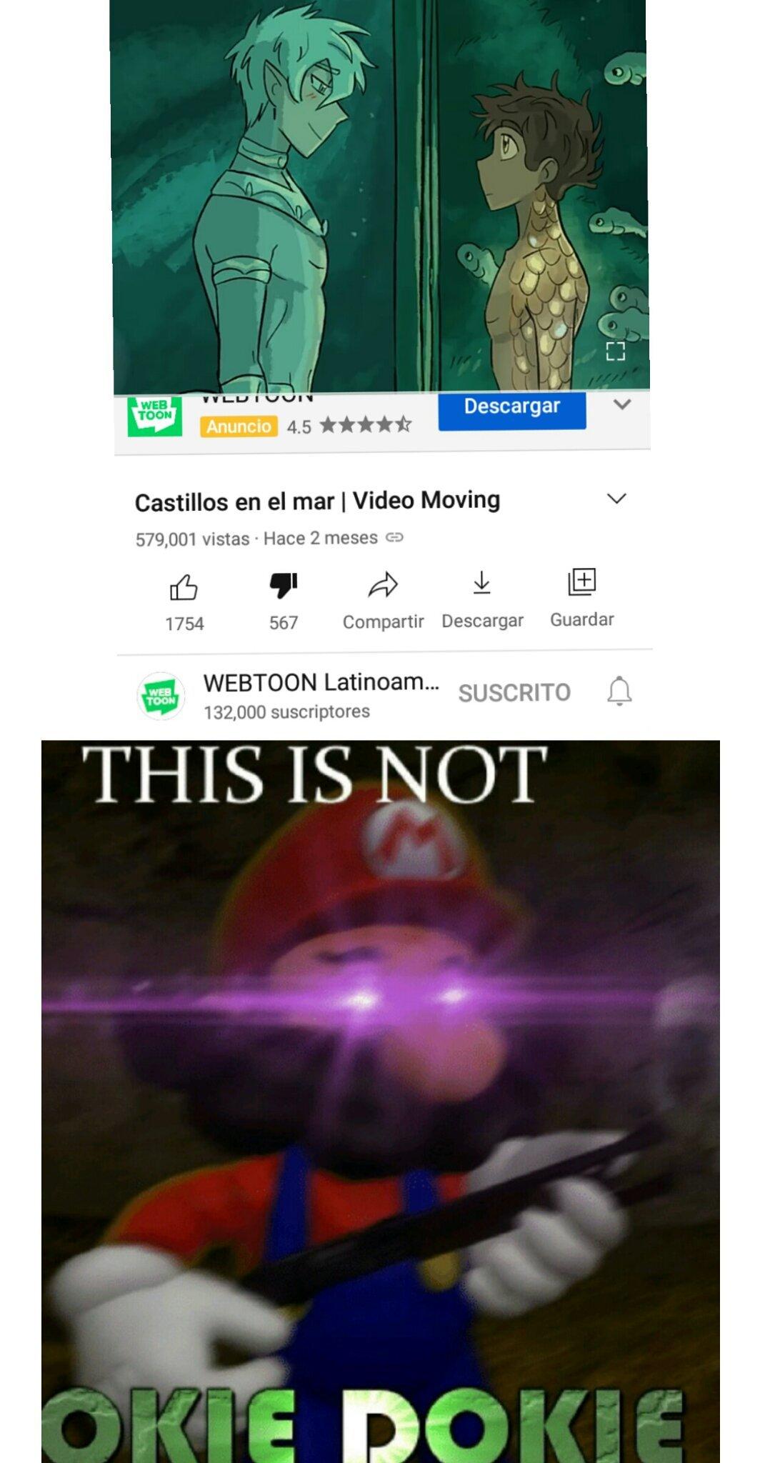 This is not okie dokie - meme
