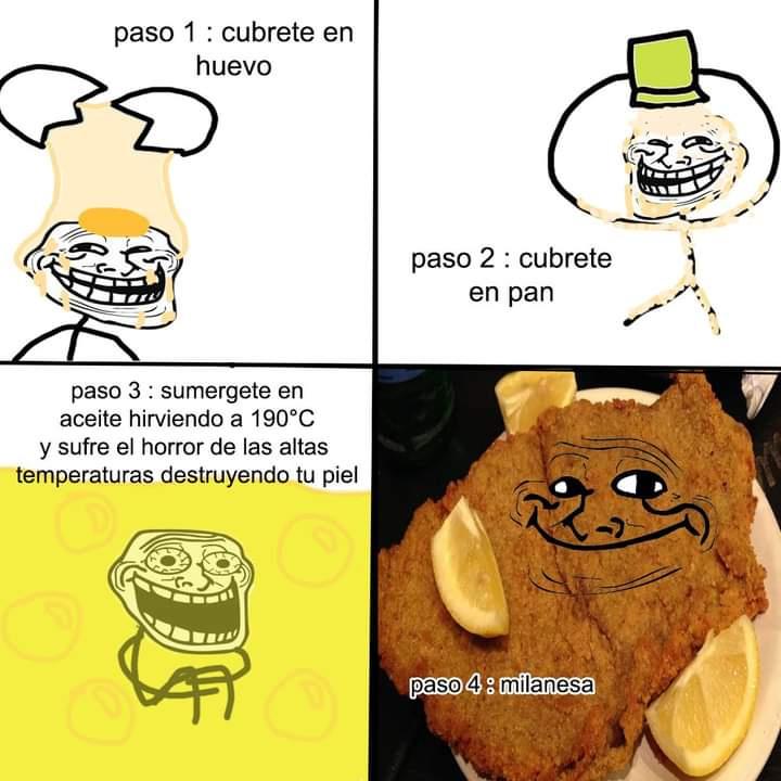 Milanesa - meme