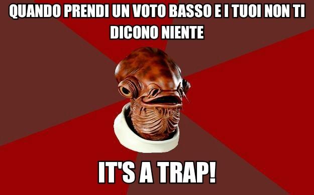 It's a trap! - meme