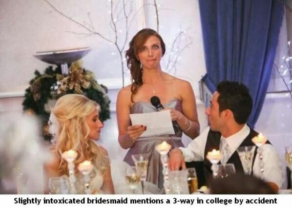 Look at the guy then look at bride - meme