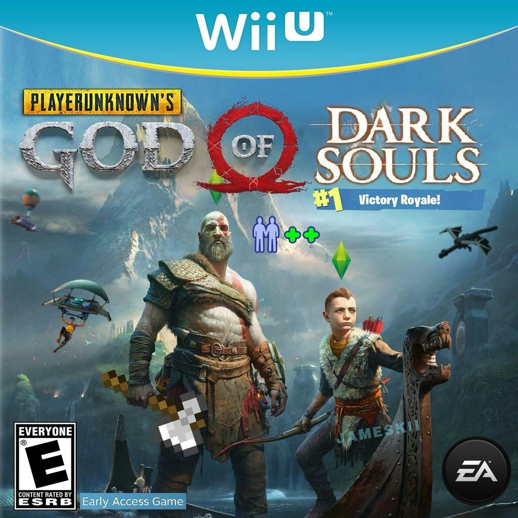 Imagina Dark souls battle royale - meme
