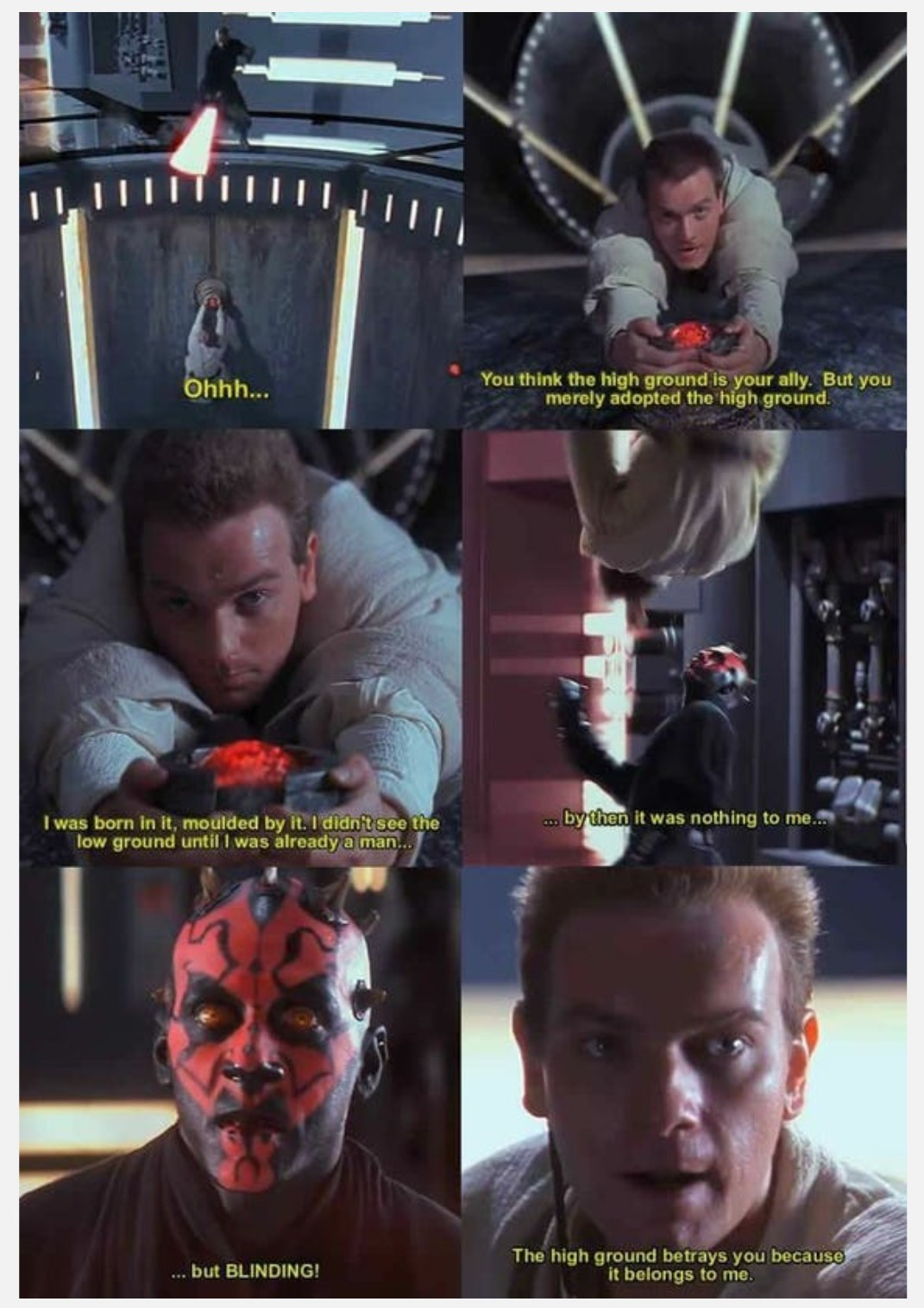 Early years of obi - meme