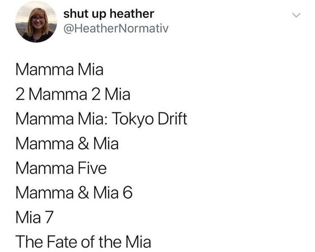 Mamma mia - meme