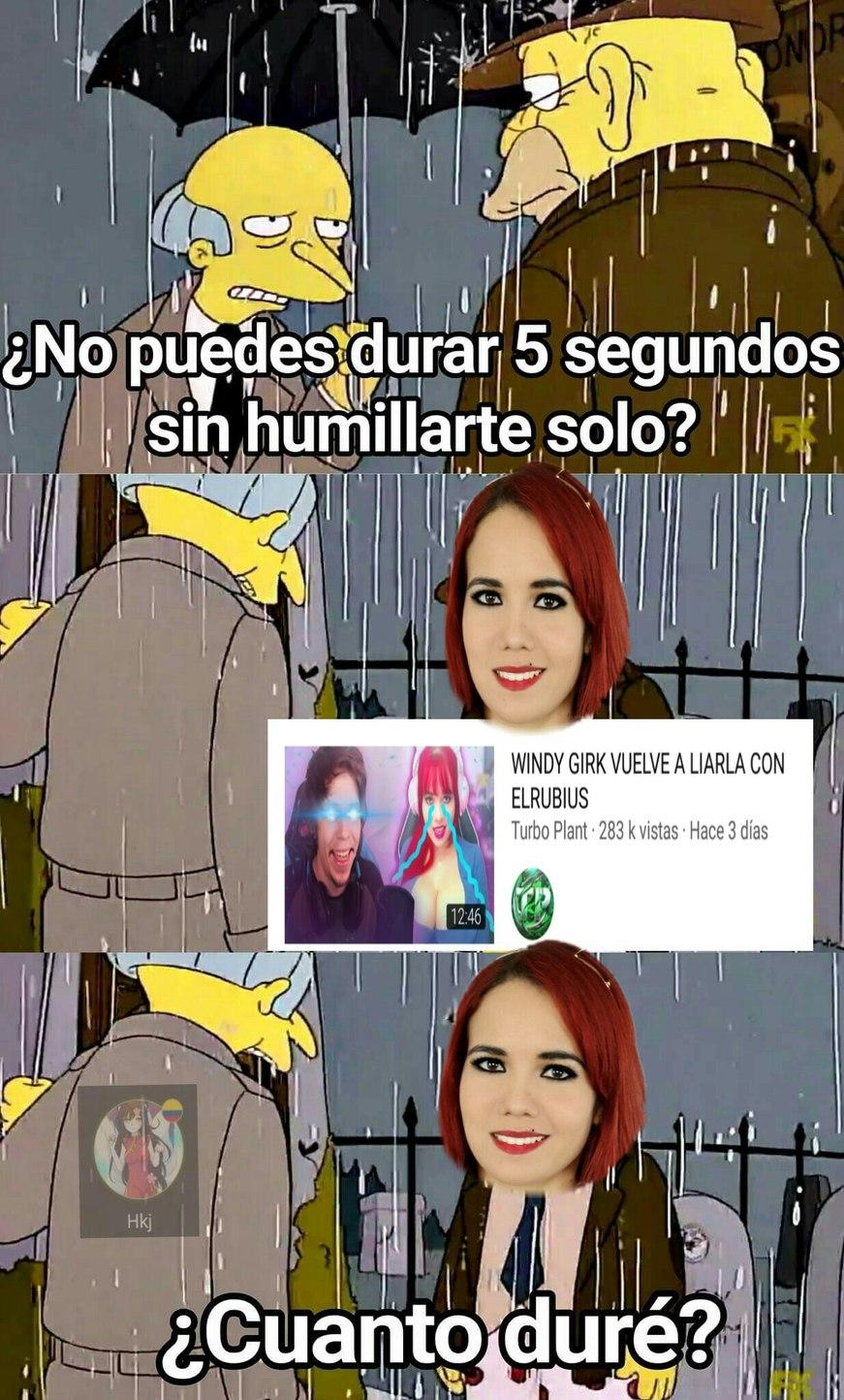 Pvta Pelirroja - meme
