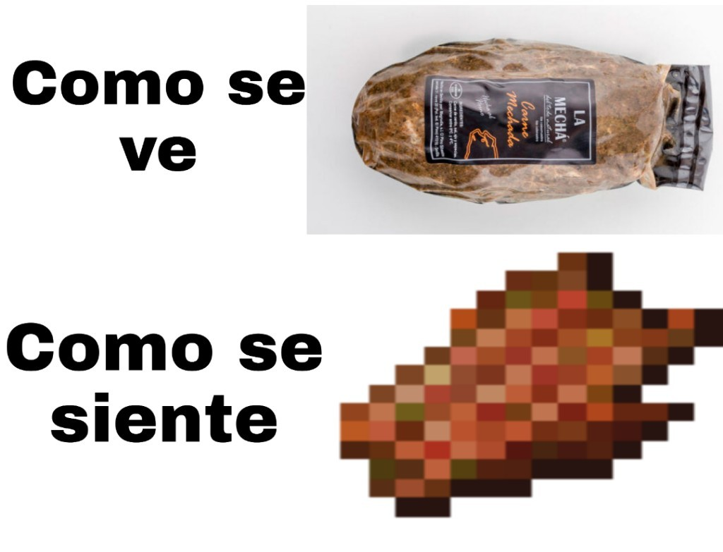 La mecha es una marca de comida española que resultó tener una enfermedad (Listeriosis) - meme