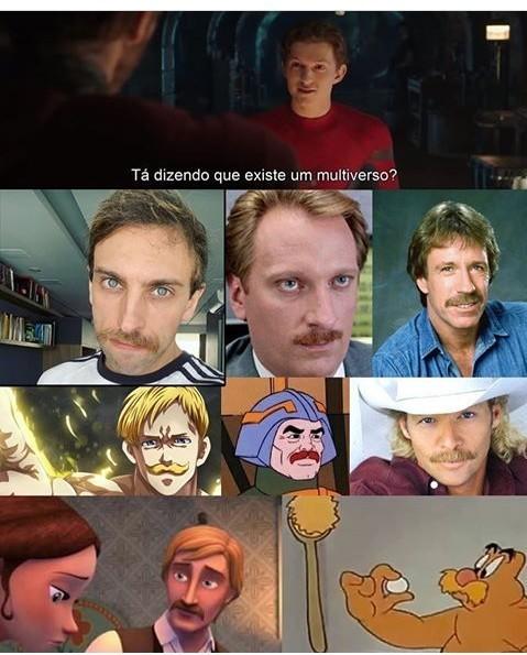 Chuck norris é o Deus de todos os multiversos - meme