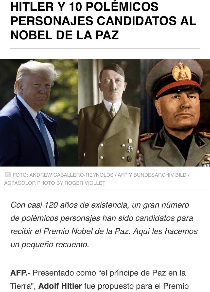 """Hitler """"Príncipe de la paz en la tierra"""" - meme"""