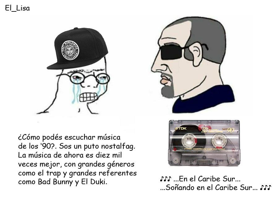 Música de los '90 - meme