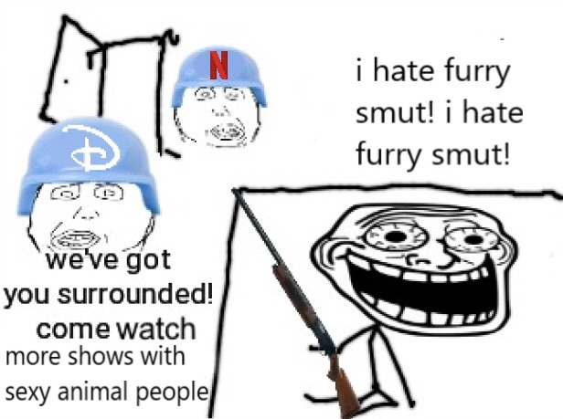 Furries may be degenerates, but they do draw pretty well - meme