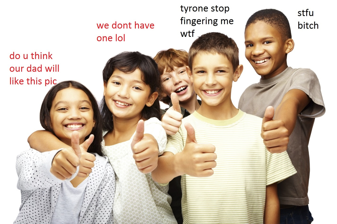 that's not very nice, tyrone - meme
