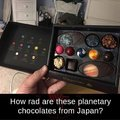 Planetarey chocolates